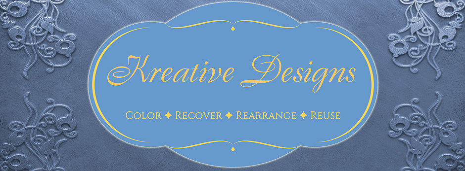 Kreative Designs - Color-Recover-Rearrange-Reuse